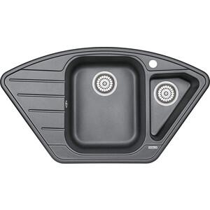 Кухонная мойка Granula GR-9101 шварц цепочка женская sela цвет серебристый ank 147 478 9101