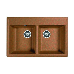 Кухонная мойка Dr.Gans Астра 780 терракота (25.060.E0780.406)