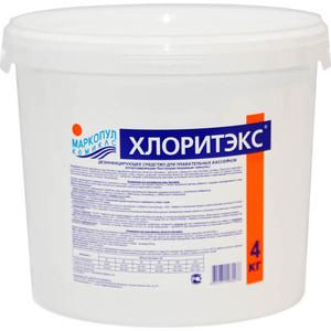 Хлоритэкс Маркопул Кэмиклс М53 средство для текущей и ударной дезинфекции воды (4кг гранулы)