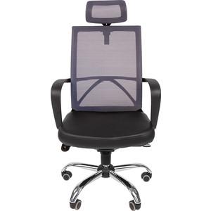 Офисное кресло Русские кресла РК 230 Люкс серая спинка PU 0007 кресло руководителя русские кресла рк 230 lux
