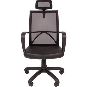 Офисное кресло Русские кресла РК 230 черная спинка PU 0007 кресло руководителя русские кресла рк 230 lux