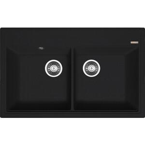 Кухонная мойка Florentina Липси 820 антрацит FSm (20.370.E0820.302)