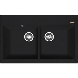 Кухонная мойка Florentina Липси 820 антрацит FSm (20.370.E0820.302) цена