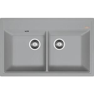 Кухонная мойка Florentina Липси 820 грей FSm (20.370.E0820.305)