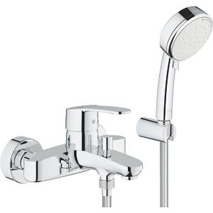 Смеситель для ванны Grohe Eurostyle Cosmopolitan с душевым гарнитуром (3359220A)