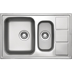 Кухонная мойка Florentina Профи 780.500 К (PR.780.500.B.1K.D.08)