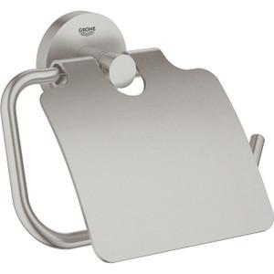 Держатель туалетной бумаги Grohe Essentials New с крышкой (40367DC1)