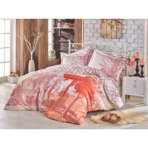 Комплект постельного белья Hobby home collection Евро, сатин, Alandra розовый (1501002147)