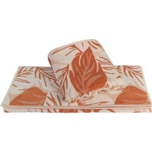 цена Полотенце Hobby home collection Autumn 70x140 см оранжевый (1501002203) онлайн в 2017 году