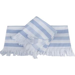 Полотенце Hobby home collection Stripe 70x140 см голубой (1501002102)