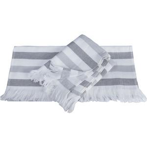 Полотенце Hobby home collection Stripe 70x140 см серый (1501002100)