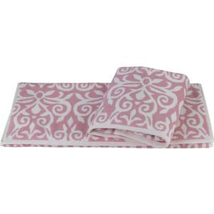 цена Полотенце Hobby home collection Valensiya 50x90 см розовый (1501002233) онлайн в 2017 году