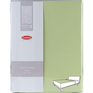 купить Простыня Hobby home collection 160х240 см зелёный (1501002027) по цене 1289.5 рублей