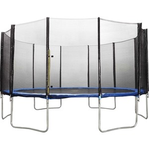 Батут DFC Trampoline Fitness 17 футов с сеткой (518 см) батут dfc trampoline fitness 18 футов с сеткой 549 см