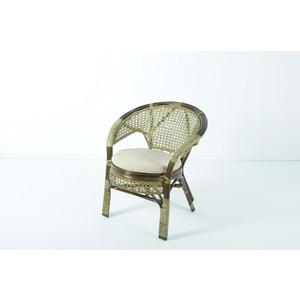 Кресло с подушкой Vinotti 02/15В олива кресло ecodesign пеланги 02 15в two tone