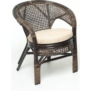 Кресло с подушкой Vinotti 02/15В темный коньяк кресло ecodesign пеланги 02 15в two tone