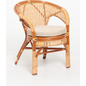 Кресло с подушкой Vinotti 02/15В коньяк кресло ecodesign пеланги 02 15в two tone