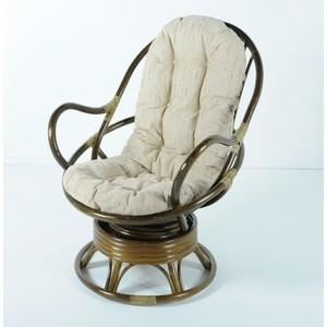купить Кресло вращающееся с подушкой Vinotti 05/01 олива недорого