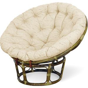 купить Кресло Vinotti Papasan 23/01 олива подушка рогожка дешево