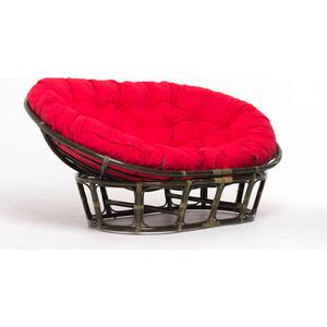 Кресло Vinotti mamasan 23/02 олива красная подушка клоран олива