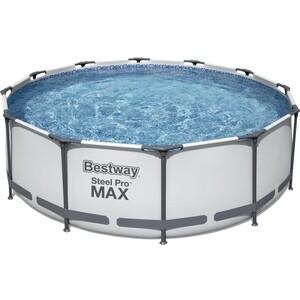 Каркасный бассейн Bestway 366x100 см (фильтр-насос, лестница) 56418