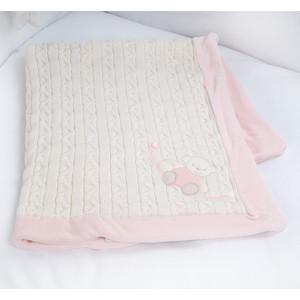 Купить Плед Picci Шерсть Mimimi Розовый 75*100См D36Lt30-01