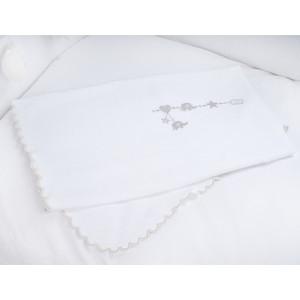 Плед PICCI Miro серый 70*95см D10136-22
