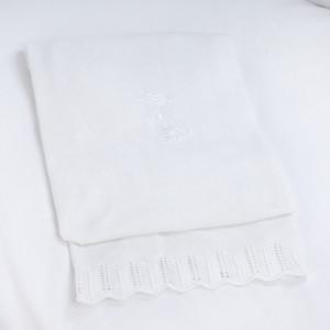 Плед PICCI Miro белый 80*90см D10636-02