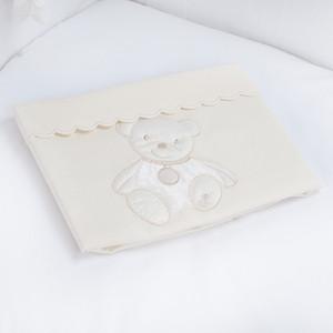 Плед PICCI Mimimi кремовый 73*83см D5230-09