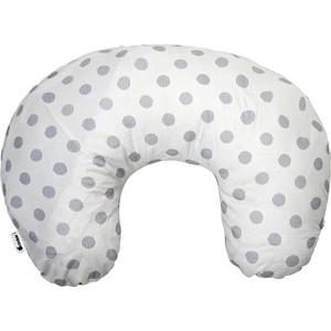 Подушка для кормления Candide сумочка 42х57 см Grey Dots, Белый в серый горошек COMFORT 204142