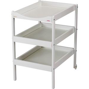 Столик для пеленания Combelle Susie (дерево) с 3-я полочками 52х82х87см White / Белый 131 матрас комфорт для манежа gaby combelle серый