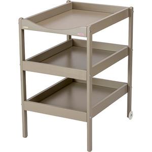 Столик для пеленания Combelle Susie (дерево) с 3-я полочками 52х82х87см Grey / Серый 1130 этажерка с деревянными полочками pristin ws004