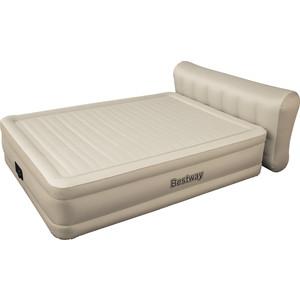 Надувная кровать Bestway 69019 Essence Fortech 229х152х79см со спинкой (встроенный электронасос) надувная кровать bestway 67600 bw cornerstone airbed 203х152х43 см встроенный электронасос уп 2