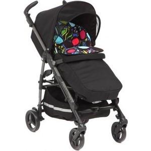 купить Коляска прогулочная Peg-Perego Si Completo, шасси DARK GREY stroller цвет si Manri, черн/цветной принт недорого