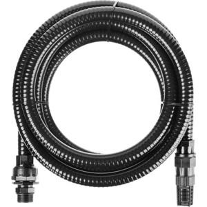 Шланг всасывающий Зубр с фильтром и обратным клапаном 1, 7м (40317-1-7) цена