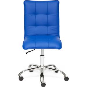 цена Кресло TetChair ZERO кож/зам синий 36-39 онлайн в 2017 году