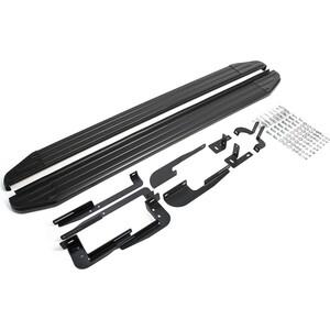 Пороги Premium-Black Rival для Hyundai ix35 (2010-2015) / Kia Sportage III (2010-2014 2014-2015), 173 см, алюминий, A173ALB.2303.2