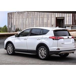 Пороги Premium Rival для Toyota RAV4 (2013-2015 / 2015-н.в.), 173 см, алюминий, A173ALP.5705.3 пороги premium rival для nissan terrano 2014 н в renault duster 2011 2015 2015 н в 173 см алюминий a173alp 4701 3