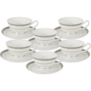 Набор чайный 12 предметов 0.2 л Anna Lafarg Emily Бостон (AL-16908/12-E5)
