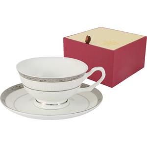 Чашка с блюдцем 0.2 л Anna Lafarg Emily Бостон (AL-16908/CS-E5) чашка с блюдцем anna lafarg stechcol лаура кремовая al 17821d cre tcs st
