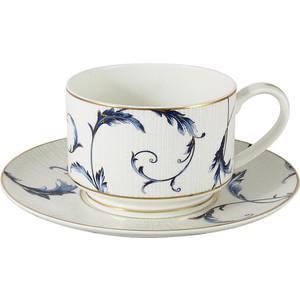 Чашка с блюдцем 0.2 л Anna Lafarg Emily Элегия (AL-M1935/CS-E9) чашка с блюдцем anna lafarg stechcol лаура сиреневые цветы al 17821 f bcs st