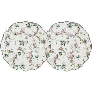 Набор закусочных тарелок 2 штуки 21 см Anna Lafarg Primavera Йорк (AL-NWP825-302-PW)