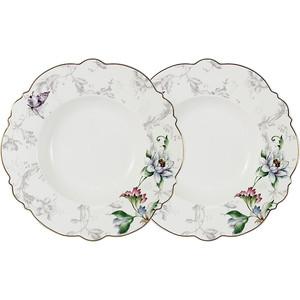 Набор суповых тарелок 2 штуки 22 см Anna Lafarg Primavera Йорк (AL-NWP9-302-PW)