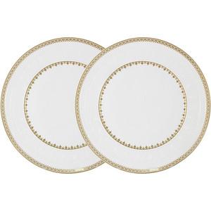 Набор обеденных тарелок 2 штуки 27 см Colombo Золотой замок (C2-DR/2-6962)