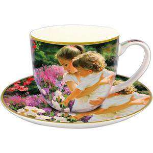 Чашка с блюдцем 0.25 л Carmani Материнство (CAR2-045-0231)
