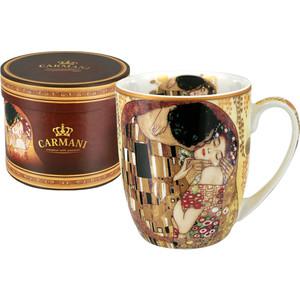 Кружка 0,4 л Carmani Поцелуй (Г. Климт) (CAR2-532-0401-AL)