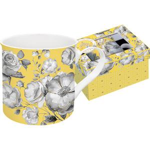 цена на Кружка 0.3 л Easy Life (R2S) Цветовая палитра желтая цветы (EL-R0177/TCYG)