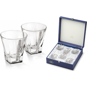 Набор бокалов для виски 6 предметов Гамма Регина Сваровски (GA3053200AL)