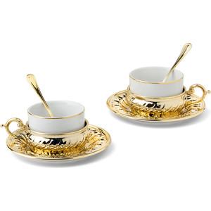 Набор чашек с блюдцем 2 штуки Гамма Stradivari (GA6207700AL)