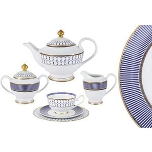 Чайный сервиз 23 предмета на 6 персон Midori Адмиралтейский (MI2-9831-Y3/23A-AL) чайный сервиз вдохновение midori